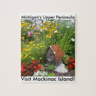 Quebra-cabeça Um jardim da ilha de Mackinac