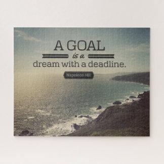 Quebra-cabeça Um sonho com um fim do prazo
