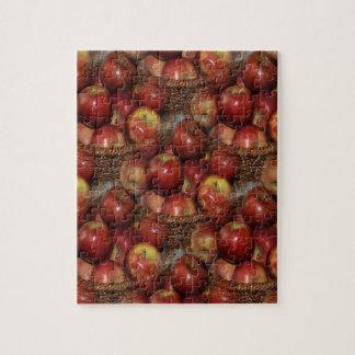 Quebra-cabeça Uma maçã um o dia…
