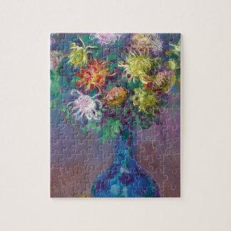 Quebra-cabeça Vaso dos crisântemos Claude Monet