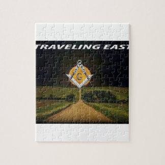 Quebra-cabeça Viagem para o leste