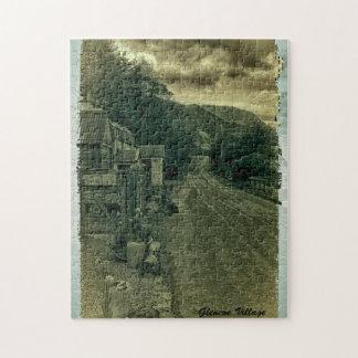 Quebra-cabeça Vila de Glencoe, Glencoe, Lochaber, Scotland
