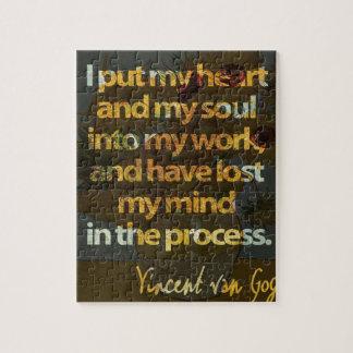 Quebra-cabeça Vincent van Gogh