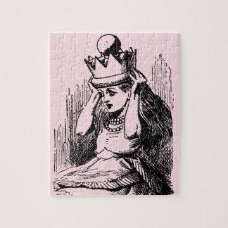 Quebra-cabeça Vintage Alice no país das maravilhas, Alice como a