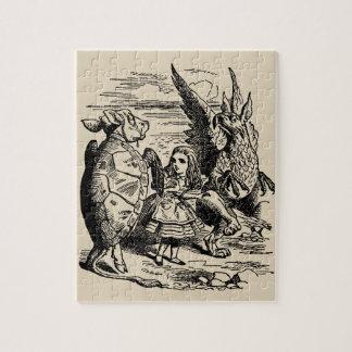 Quebra-cabeça Vintage Alice no país das maravilhas, Gryphon,