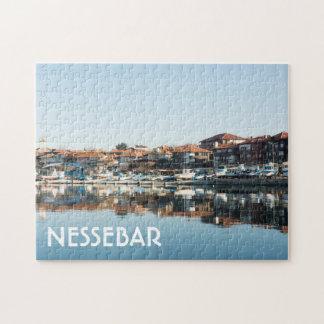 Quebra-cabeça Vista na cidade búlgara famosa Nessebar