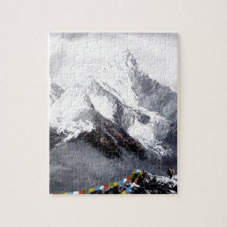 Quebra-cabeça Vista panorâmica da montanha de Everest