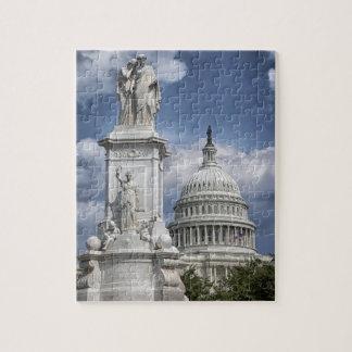 Quebra-cabeça Washington DC da construção do Capitólio