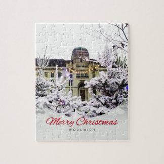 Quebra-cabeça Woolwich - serra de vaivém do Natal