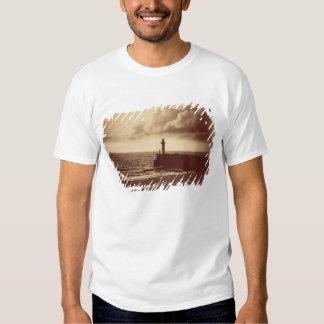 Quebra-mar em Sete, c.1855 (impressão do albume da Camiseta