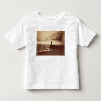 Quebra-mar em Sete, c.1855 (impressão do albume da Camiseta Infantil