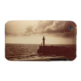 Quebra-mar em Sete, c.1855 (impressão do albume da Capas Para iPhone 3 Case-Mate