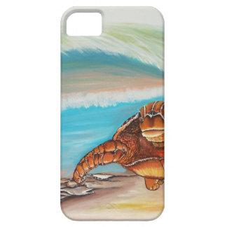 Quebrando a tartaruga de mar da crista da água capa para iPhone 5