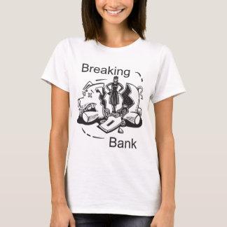 Quebrando o banco camiseta