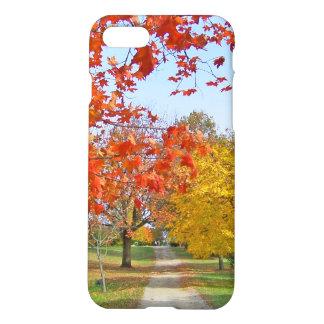 Queda das folhas de outono capa iPhone 7