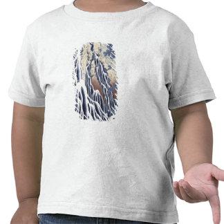 Queda de Kirifuri na montagem de Kurokami T-shirt