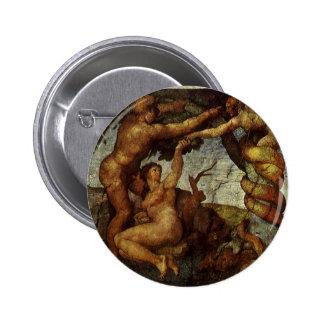Queda do Jardim do Éden, fresco, Michelangelo Boton