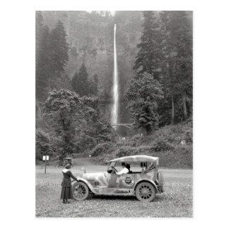 Quedas 1918 - cartão de Multnomah do vintage de Cartão Postal