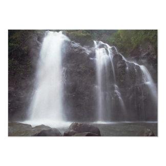 Quedas da água convite 12.7 x 17.78cm