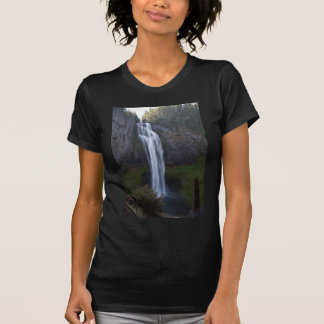 Quedas da angra de sal Oregon T-shirt