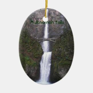 Quedas de Multnomah, ornamento cerâmico de Oregon