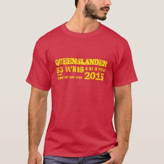 Queenslander, estado de origem camiseta