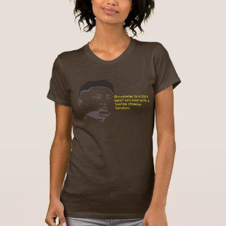 queijo suíço t-shirt
