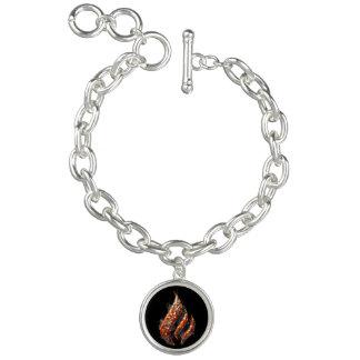 Queimadura para um bracelete do encanto da cura