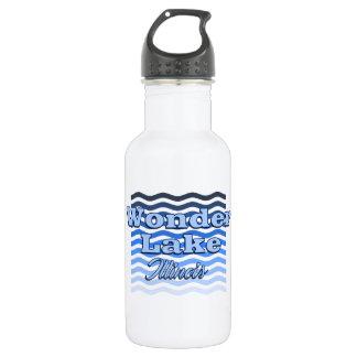 Queira saber a garrafa de água azul da onda do