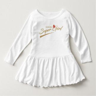 queira ser um vestido do bebê do supergirl