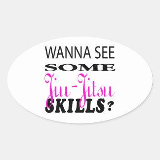 Queira ver alguma habilidade de Jiu-Jitsu