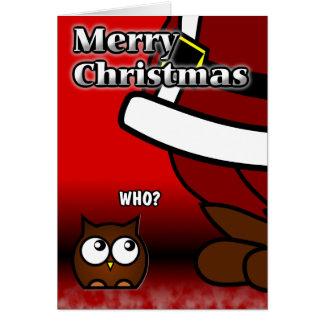 Quem? Cartão de Natal