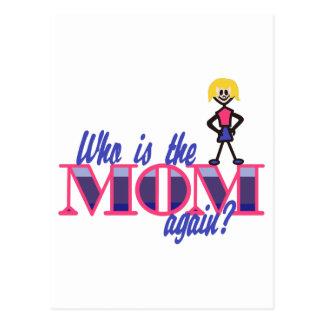Quem é a mamã cartão postal