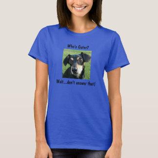 Quem é mais bonito? T-shirt Camiseta