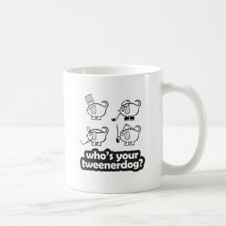 quem é seu tweenerdog? caneca do design 2