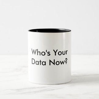 Quem é sua caneca de café dos dados