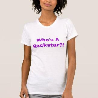 Quem é um Rockstar?! Camisetas