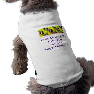 Quem está receoso da camiseta de cão do Dia das Br Roupas Para Cães
