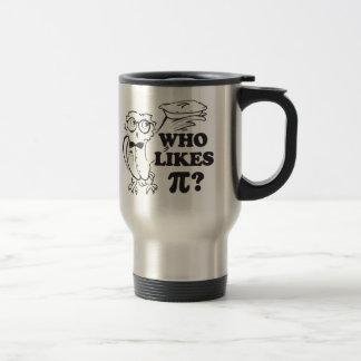 Quem gosta do Pi?  Caneca de Tavel