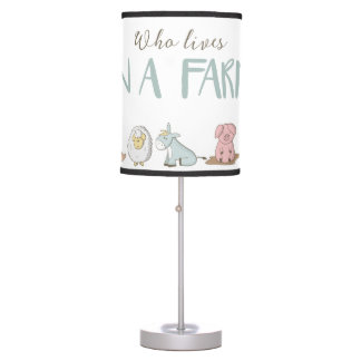 Quem vive em uma lâmpada da fazenda