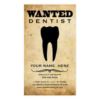 querido: dentista cartão de visita