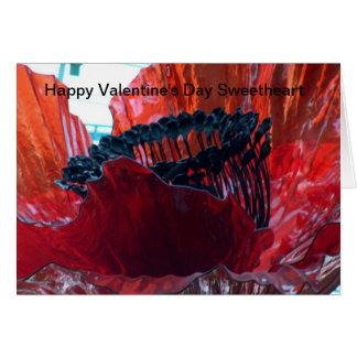 Querido do feliz dia dos namorados cartão comemorativo