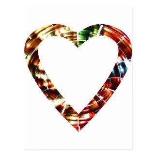 Querido V4 - Série vermelha Sparkling Cartoes Postais