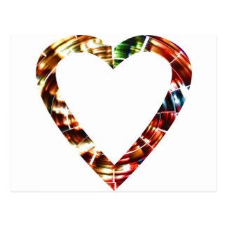Querido V4 - Série vermelha Sparkling Cartões Postais