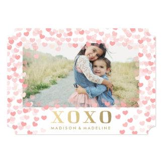 Queridos no cartão com fotos do dia dos namorados convite 12.7 x 17.78cm