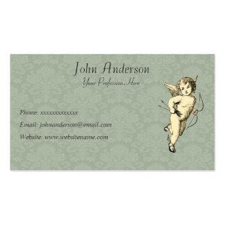 Querubim e papel de parede cartão de visita