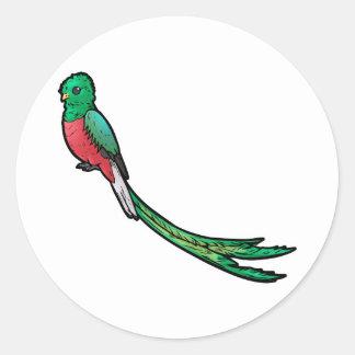 Quetzal Adesivo Redondo