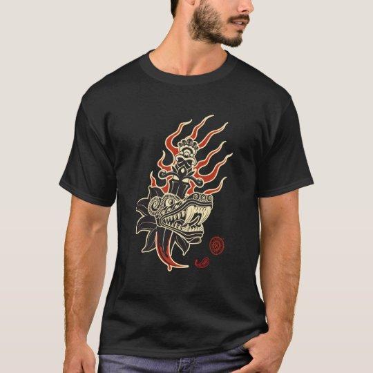 Quetzal Tatoo de AZTK Camiseta