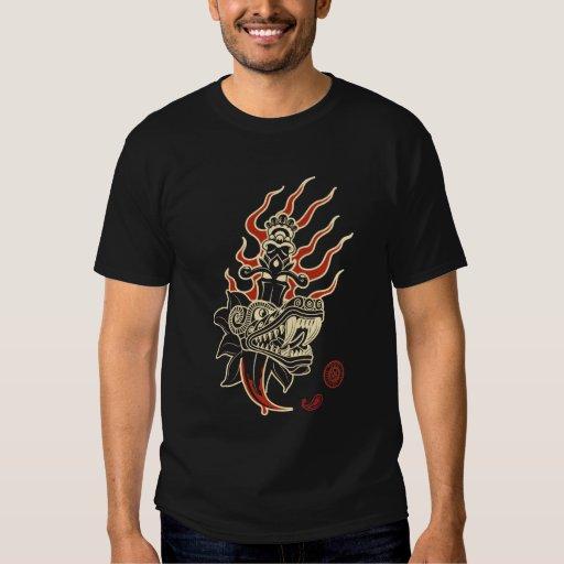 Quetzal Tatoo de AZTK Tshirts