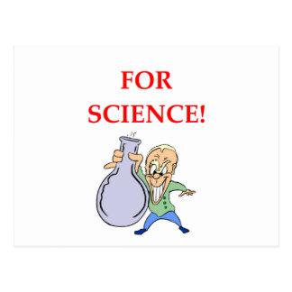 química cartão postal